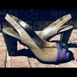 Anne Klein heels - slingbacks